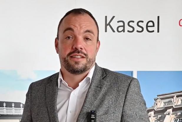 OB Kassel begruesst Jaroslawl zum Stadtfest